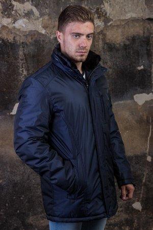 Куртка 16627 синий PAOLO МАХ