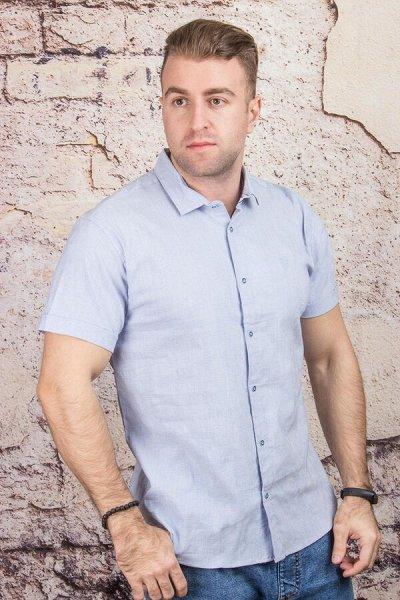TAMKO-мужская одежда из Турции 16. Много больших размеров. — Рубашки короткий рукав — Короткий рукав