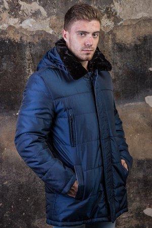 Куртка 16860 синий PAOLO МАХ