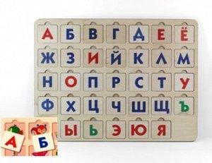 """Игра развивающая деревянная """"Азбука"""" 1"""