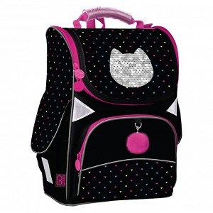 Рюкзак GoPack Education каркасный 5001-6 Shiny cat