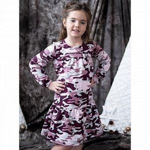 Платье Камуфляжное