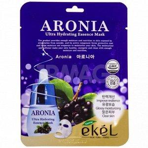 "E`kel Маска-салфетка для лица ""Рябина черноплодная"" / ARONIA Ultra Hydrating Essence Mask"