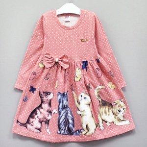 Платье Платье с длинным рукавом: - выполнено из качественного плотного трикотажа, за счет лайкры в составе отлично садится по фигуре - классический фасон с расклешенной юбкой - лаконичные расцветки в