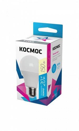 Светодиодная лампа КОСМОС А60 20W Е27