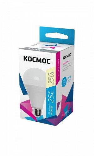 Светодиодная лампа КОСМОС А60 25W Е27