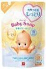 """Увлажняющая молочная детская пенка """"2 в 1"""" для мытья волос и тела с первых дней жизни (""""Без слёз"""")  """"Kewpie"""" (мягкая упаковка 35"""