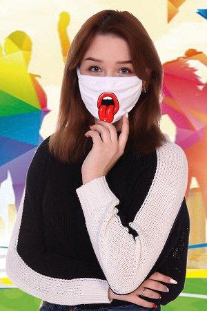 Санитарно-гигиеническая маска немедицинского назначения Липс (подростковая)