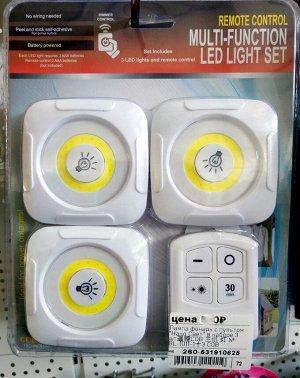 Светильник Портативные светильники для шкафов. Отличное решения для мест где проблематична установка стационарных светильников.