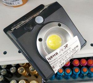 Светильник Светильник с датчиком света и движения. Заряжается от солнечной энергии