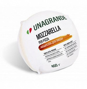 "Моцарелла для пиццы ""Unagrande"" 45% 0,46 кг."