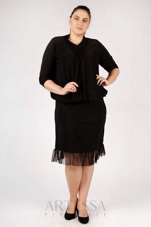 Платье PP19207BLK01