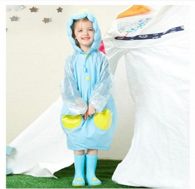 😍Позитивные тапочки,носки,сапожки,рюкзаки😍💣!! Скидки!!! — Детские дождевики — Зонты