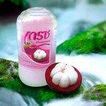 Кристаллический натуральный антибактериальный дезодорант Грейс, 70гр Мангостин