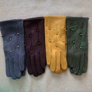 Перчатки подкладка плюш, очень мягкие и комфортные.