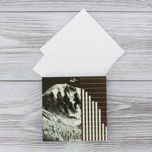"""Футляр с бумажным блоком для записей """"Горы"""""""