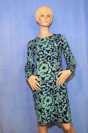 Платье Материал хлопок+полиэстер. ОГ 88см, ОТ 82см, ОБ 92см, длина 93см. Имеет небольшой складской запах, при стирке уходит