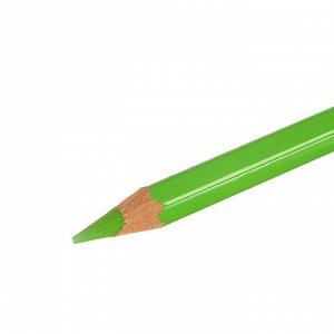 Карандаш акварельный Koh-I-Noor Mondeluz 3720/022, зеленый желтоватый, 175 мм, грифель 3.8 мм, ЦЕНА ЗА 1 ШТ