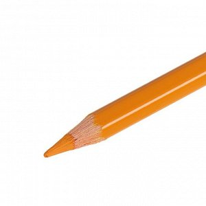 Карандаш акварельный Koh-I-Noor Mondeluz 3720/044, желтый неаполь, 175 мм, грифель 3.8 мм, ЦЕНА ЗА 1 ШТ