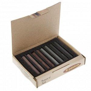 Соус художественный, ассорти, 4 цвета, 8 штук, «Мастерская художника», в картонной коробке