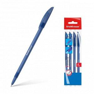 Набор ручек шариковых 4 штуки R-101, узел 1.0 мм, чернила синие, длина линии письма 800 метров, европодвес