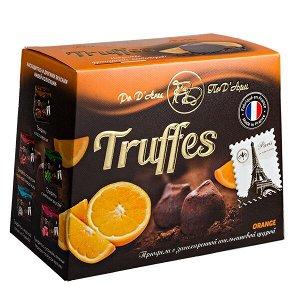 Конфеты MATHEZ PoD'Aree Трюфель с апельсиновой цедрой 160 г  или 1 уп.х 15 шт.
