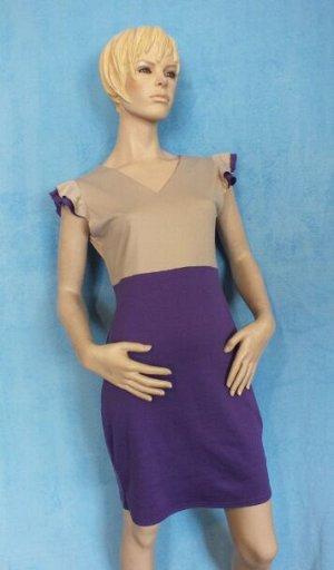 Платье Материал трикотаж. Длина 90 см, ОГ 96 см, ОТ 80 см, ОБ 100 см. Имеет небольшой складской запах, при стирке уходит
