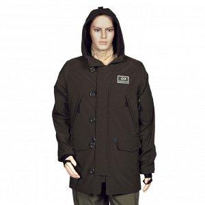 Куртка GUARDIAN SPIRIT универсальная, капюшон, мат.- Teflon, водоотталкивающий,цвет - тём.зелёный XL
