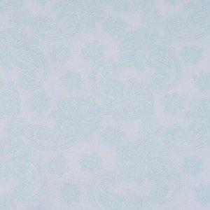 Ткань бязь плательная 150 см 8076/2 Ажур цвет мята