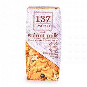 Молоко из грецкого ореха 137 Degrees, 180 мл 1/36