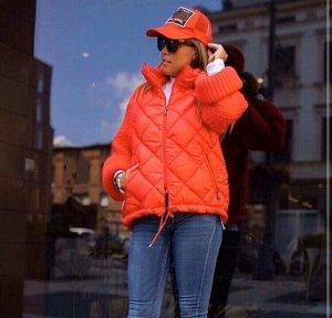 Куртка Внимание! Реальный цвет на фото 2 Короткая стёганая куртка воплощает в себе классический дизайн и особый комфорт - в этой модели есть всё необходимое для того, чтобы вы не замёрзли весной. Эффе