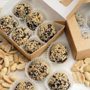 Конфеты «Шоколадные с арахисом»