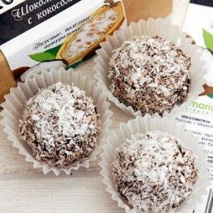 Конфеты «Шоколадные с кокосом»