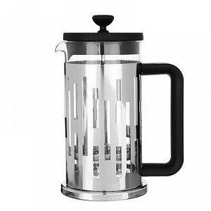 SATOSHI Рейн Френч-пресс 600мл, жаропрочное стекло, нерж.сталь