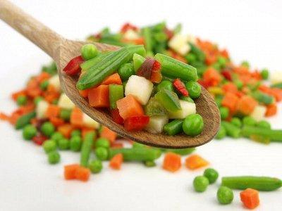 Заморожено со вкусом — Замороженные овощи. — Овощные