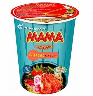 Лапша тайская ТМ Мама со вкусом морепродуктов стакан 70 гр