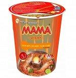 Лапша тайская ТМ Мама со вкусом Кремовый Том Ям стакан 70 гр