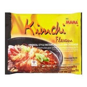 Лапша тайская ТМ Мама со вкусом Ким Чи брикет 90 гр