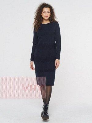 Платье женское-. Цвет: 04 т.синий