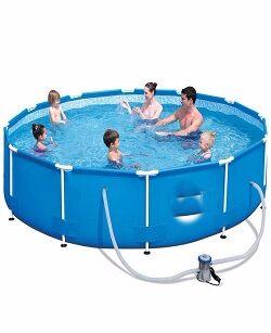 Каркасный бассейн+фильтр-насос