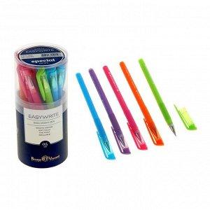 Ручка шариковая EasyWrite Special, узел 0.5 мм, синие чернила, матовый корпус Silk Touch, МИКС