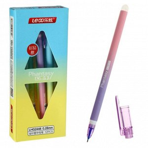 Ручка гелевая 0.28 мм, синий корпус, ПИШИ-СТИРАЙ, МИКС