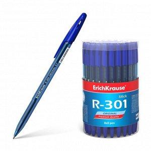 Ручка шариковая Erich Krause R-301 Original Stick, стержень синий, 0,7 мм