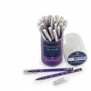Ручка шариковая HappyWrite «Совы», узел 0.5 мм, синие чернила, матовый корпус Silk Touch