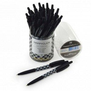 Ручка шариковая автоматическая HappyClick «Футбол», узел 0.5 мм, синие чернила, матовый корпус Silk Touch