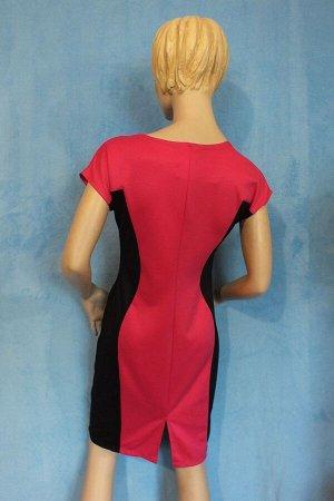 Платье Материал трикотаж. 48: Длина 92 см, ОГ 92 см, ОТ 76 см, ОБ 96 см. 50: Длина 91 см, ОГ 100 см, ОТ 82 см, ОБ 102 см. Имеет небольшой складской запах, при стирке уходит