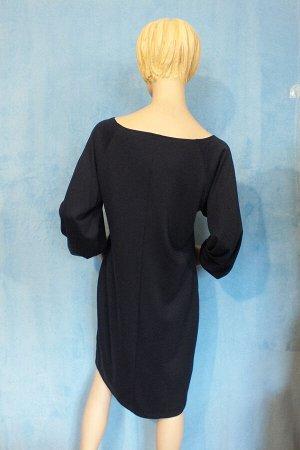 Платье Материал трикотаж. Рукав 59 см, Длина 97 см, ОГ 100 см, ОТ 100 см, ОБ 114 см. Имеет небольшой складской запах, при стирке уходит