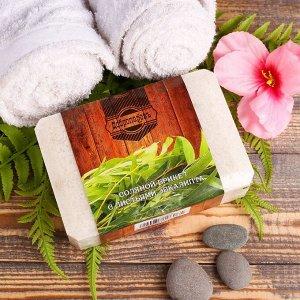 """Соляной брикет с листьями эвкалипта, 1,35 кг  """"Добропаровъ"""""""