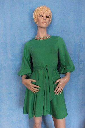 Платье Рукава 43 см, Длина 86 см, ОГ 88 см, ОТ 70 см. Имеет небольшой складской запах, при стирке уходит