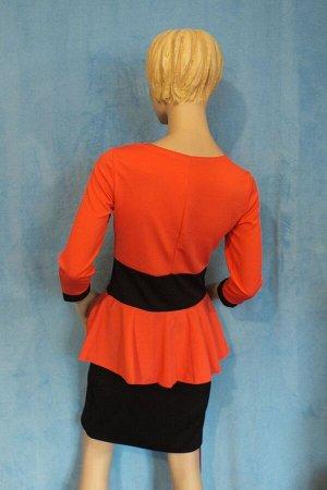 Платье Рукава 45 см, Длина 85 см, ОГ 84 см, ОТ 76 см, ОБ 88 см.  Имеет небольшой складской запах, при стирке уходит